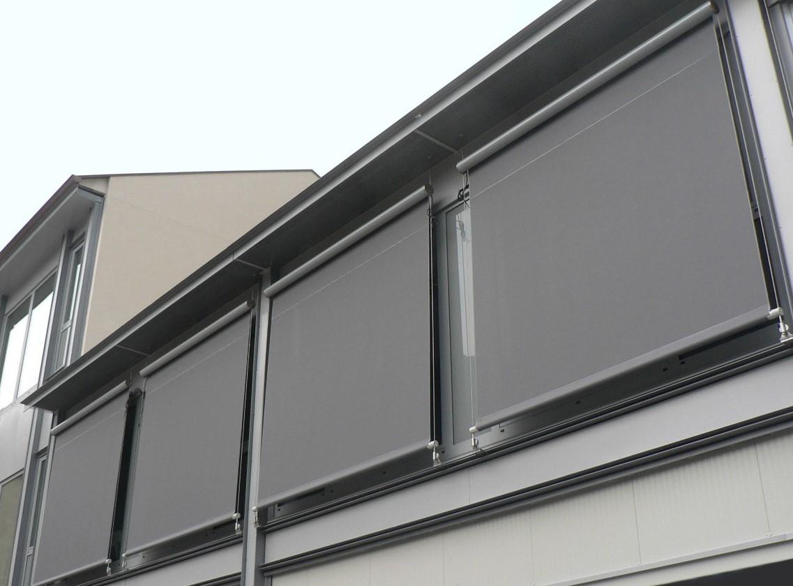 Exterior Sun Control Roller Shades Gline